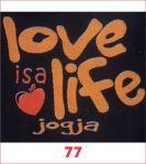 77. LOVE LIFE JOGJA